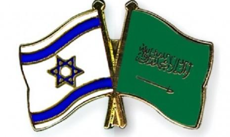 bendera-israel-dan-arab-saudi