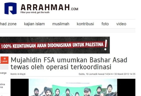 Arrahmah-FSA-Mujahidin