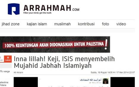 Arrahmah-ISIS-sembelih-mujahidin