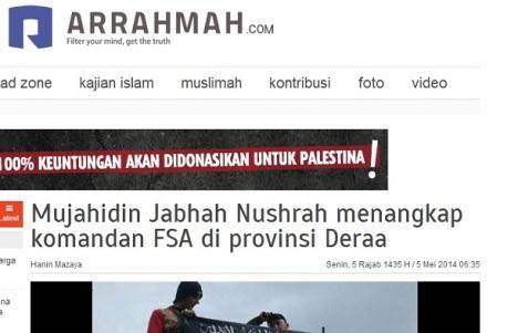 Arrahmah-FSA-ditangkap